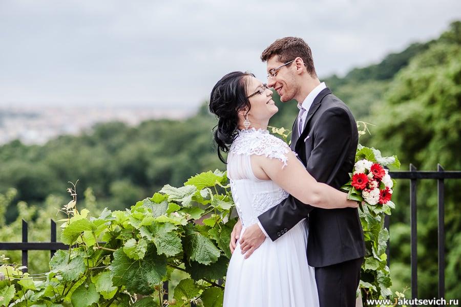 Фотограф на свадьбу в Чехии