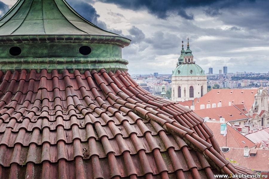 Красные крыши в Чехии