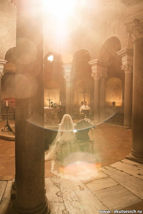 Италия Рим Венчание