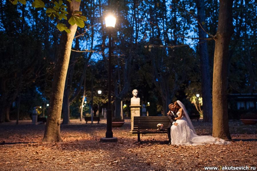 Венчание в Риме фото