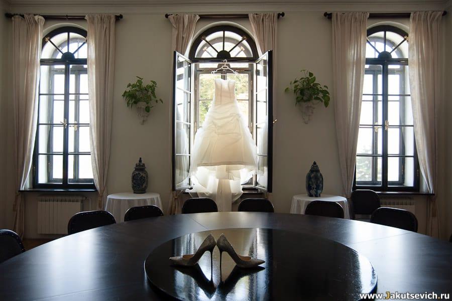 Свадебное платье в Праге