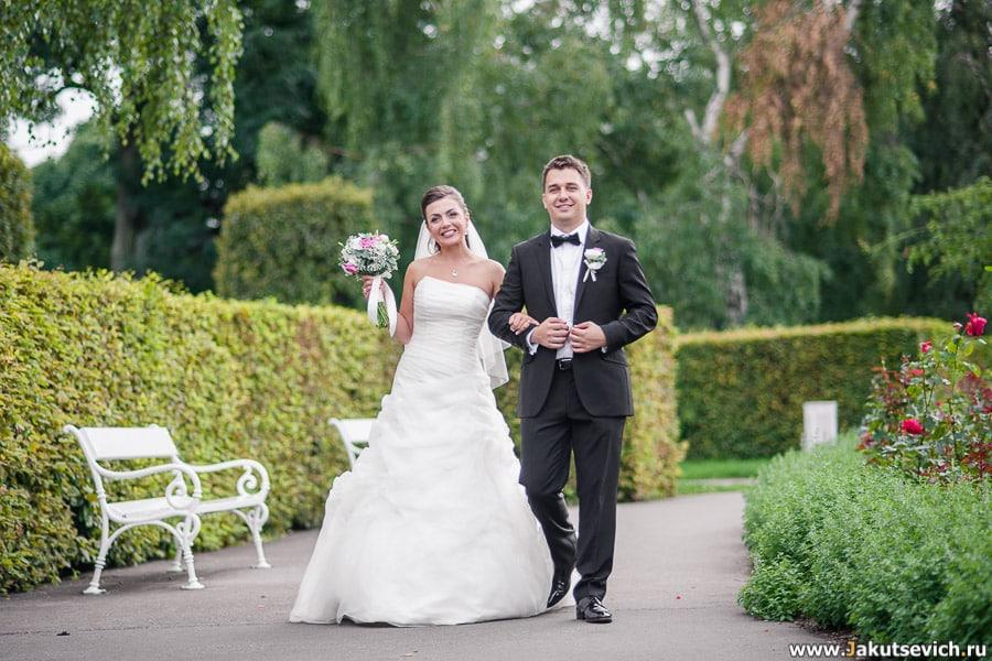 Профессиональный фотограф на свадьбу в Праге