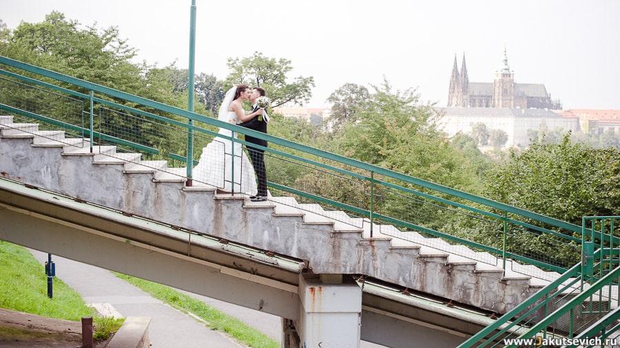 Фуникулер в Праге