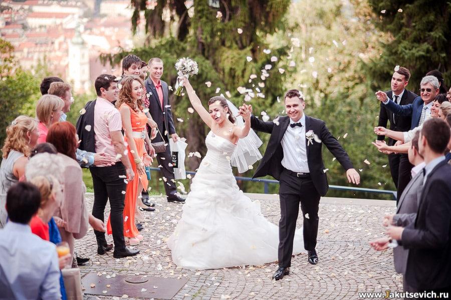Свадебные фотографии за границей