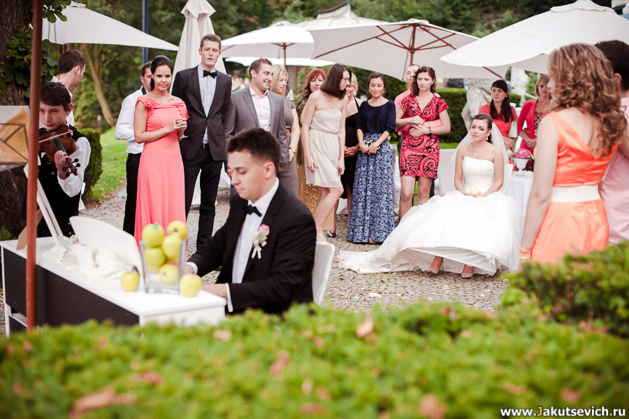 Где провести свадьбу в Чехии