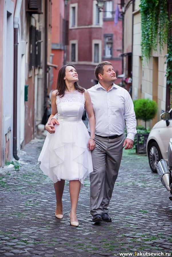 Фотосессия на свадьбу в Италии