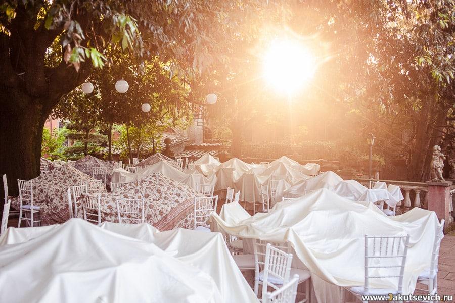 Италия свадьба меню