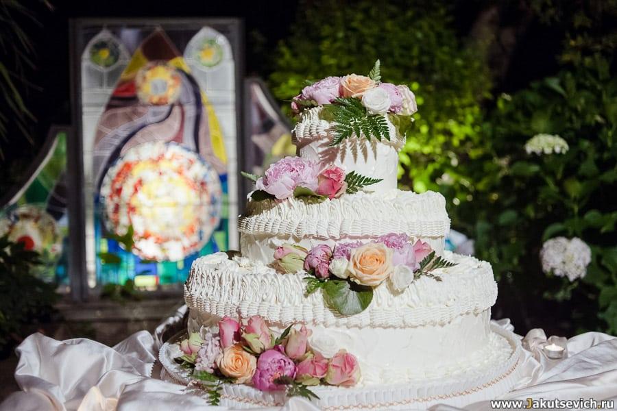 Свадебный торт Италия