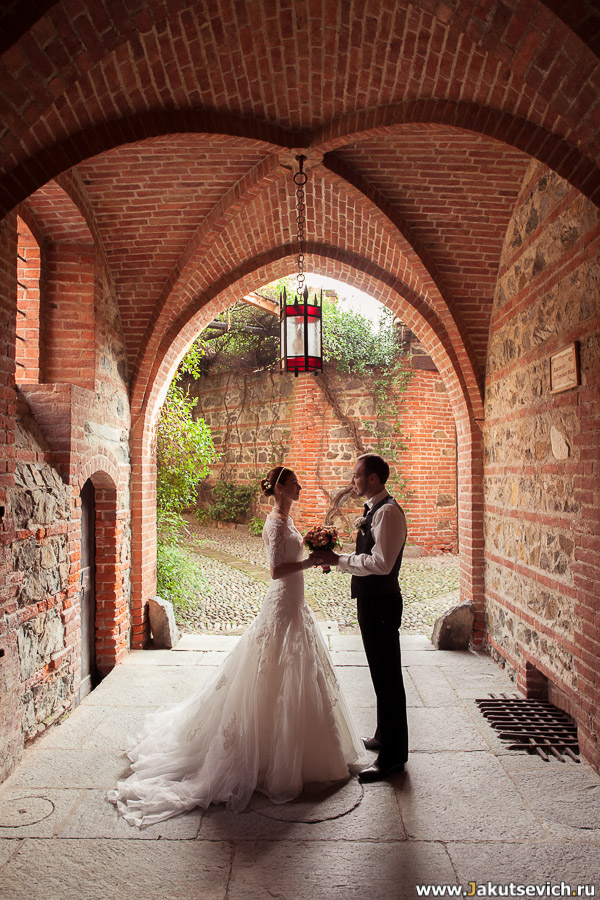 красивое место для свадебной съемки
