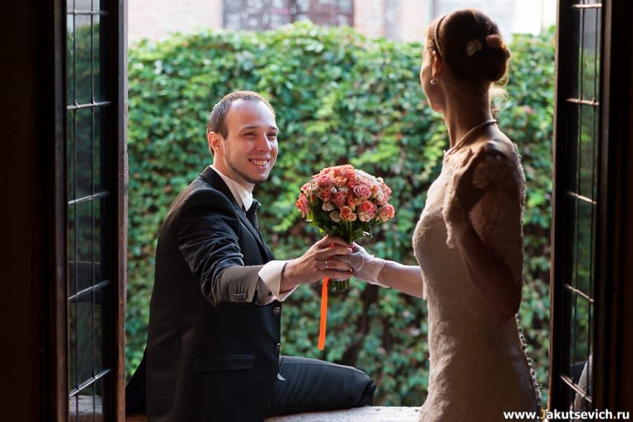 Ромео на балконе Джульетты