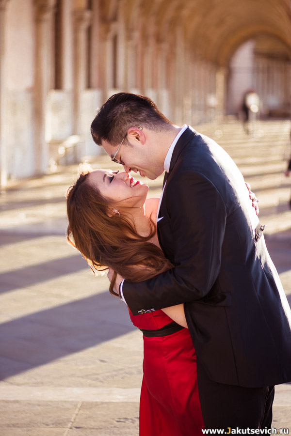 влюбленные в Венеции