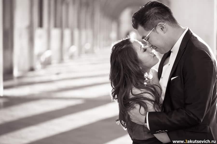 фотосессия love story в Венеции