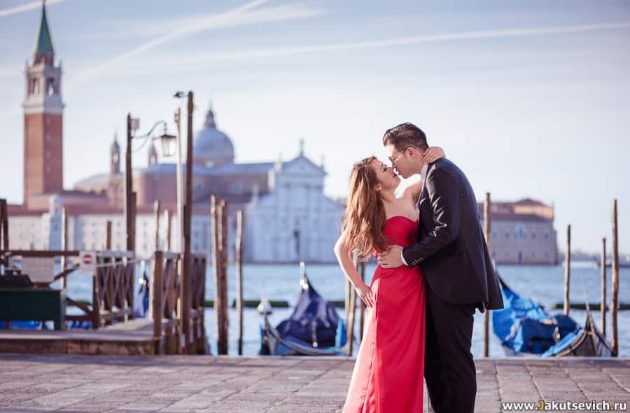 пример фотосессии в Венеции