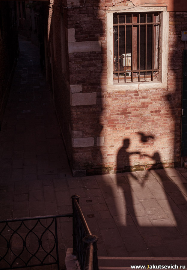 узкие улочки Венеции