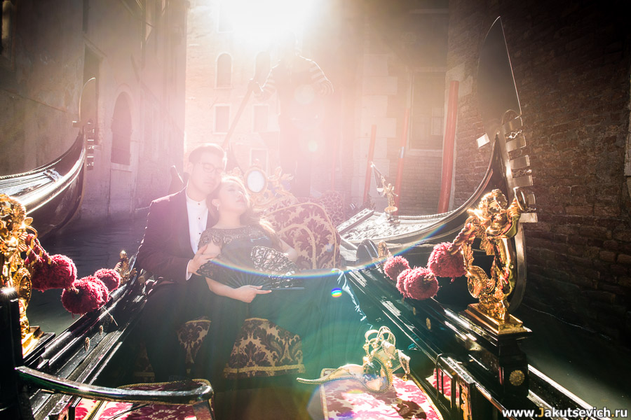 Фотограф в Венеции фотосессия для влюбленных