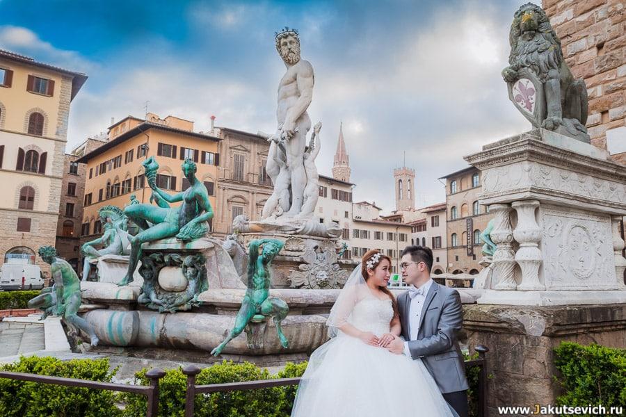 Фотограф во Флоренции
