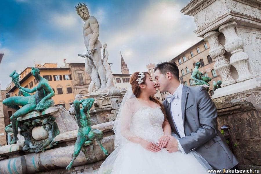 Предсвадебная фотосессия во Флоренции