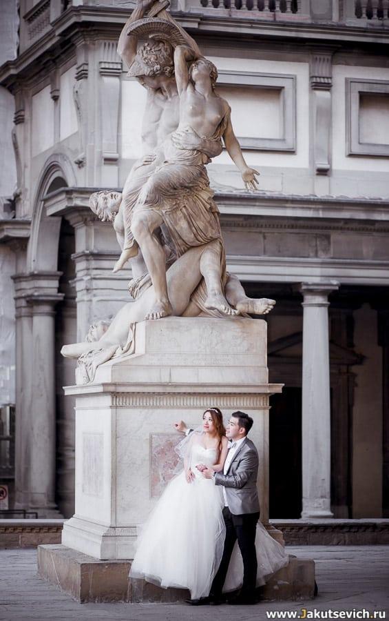 Свадебная фотосъемка во Флоренции