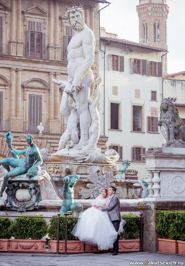 Предсвадебное путешествие в Италию