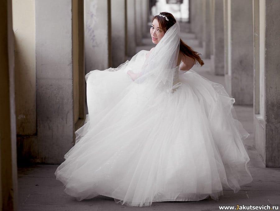 Свадебное платье во Флоренции