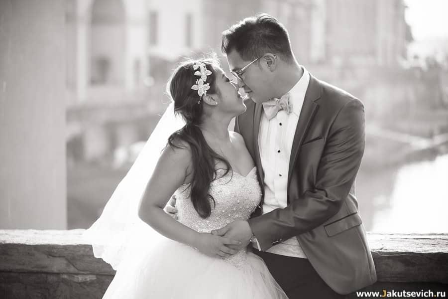 Фотограф на свадьбу во Флоренции