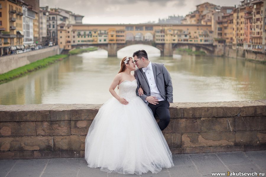 Фотосессия во Флоренции