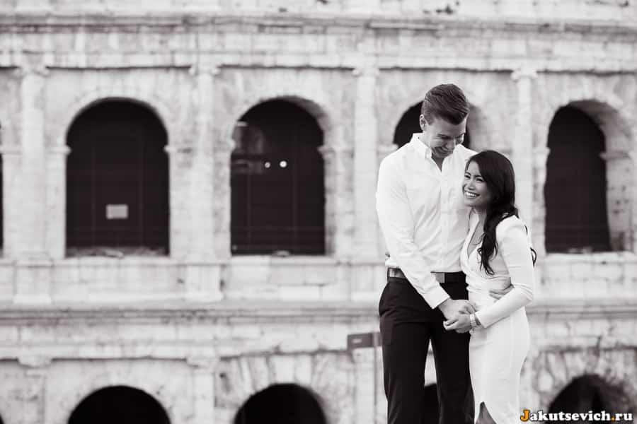 Фотосессия на фоне Колизея