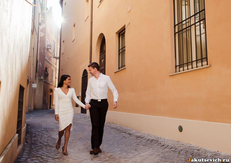 Прогулка по римским улочкам