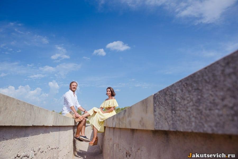Фотосессия в Таррагоне у древнего акведука – мост дьявола