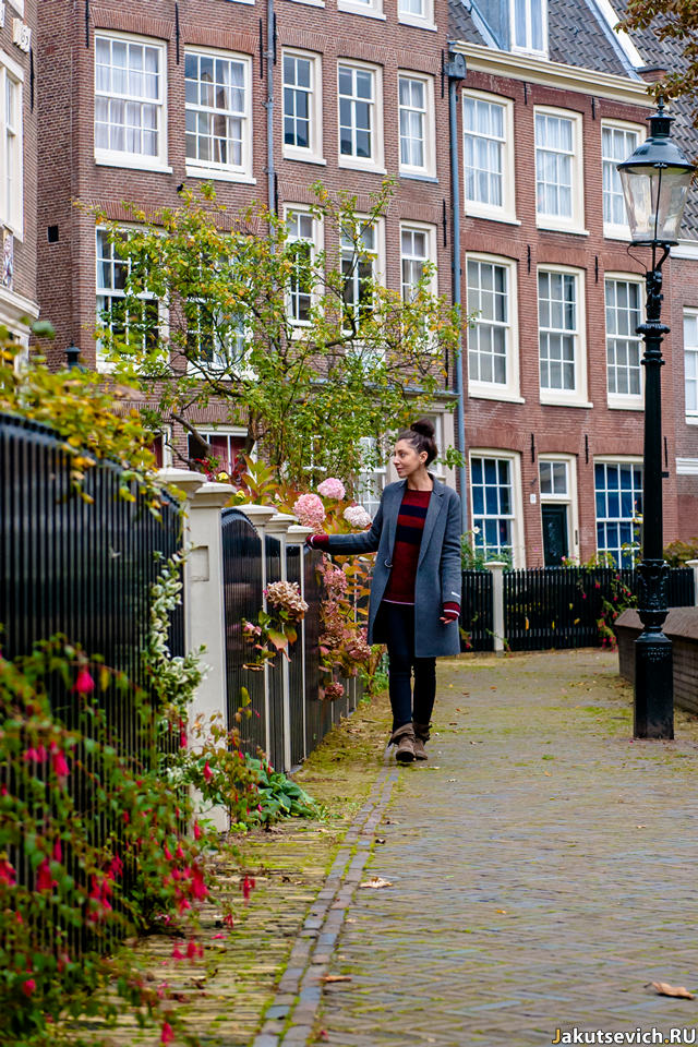 Фотосессия для девушки в Амстердаме