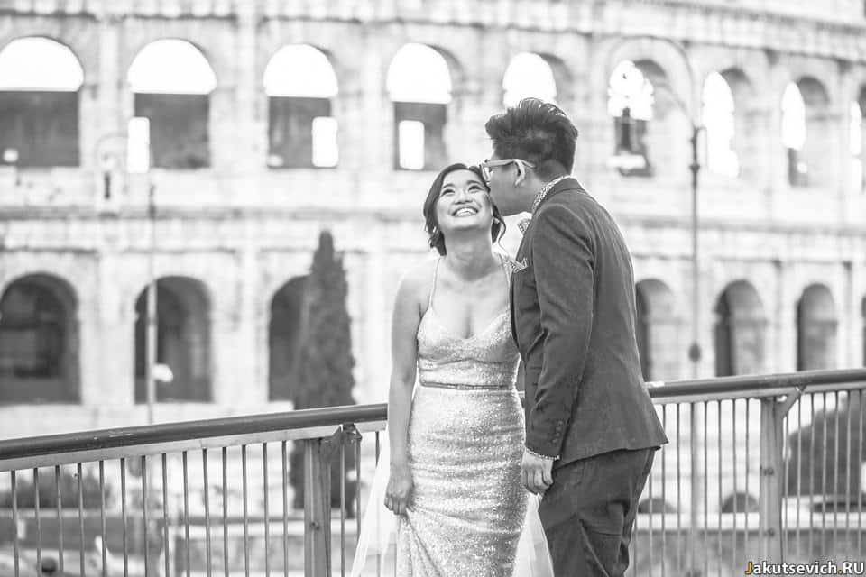 Колизей в Риме фотосессия