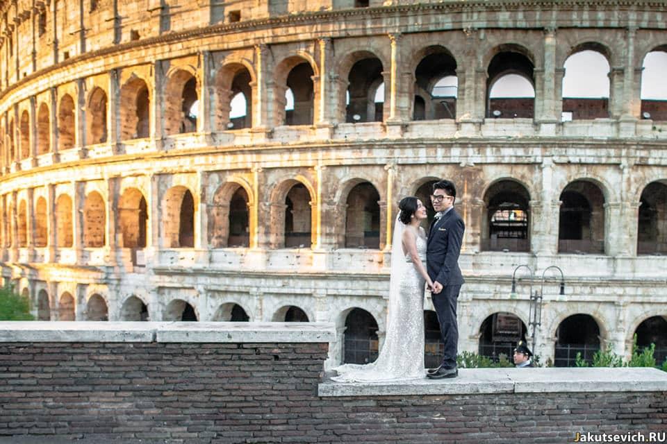 Где фотографироваться в Риме