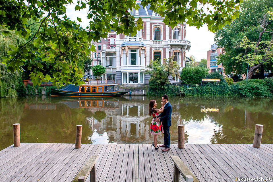 Фотосессия в Амстердаме в сентябре