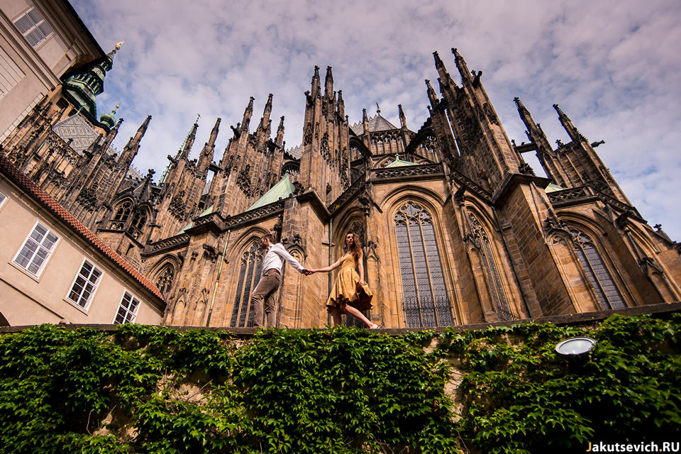 Путешествие в Прагу перед свадьбой