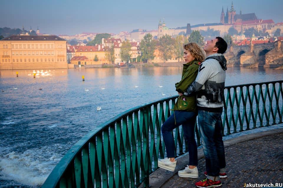 Рассвет в Праге фотосессия