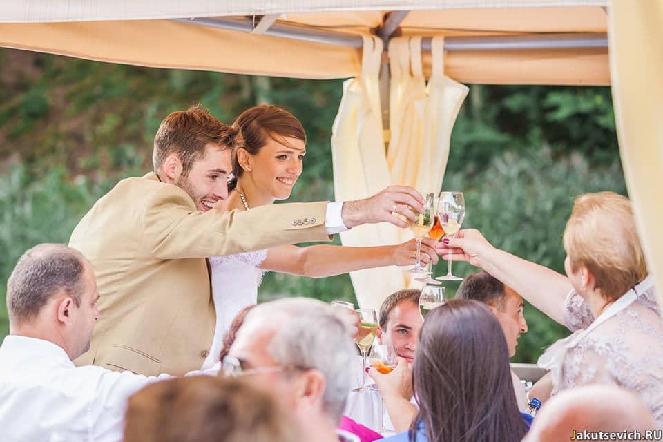 Поздравление жениха и невесты