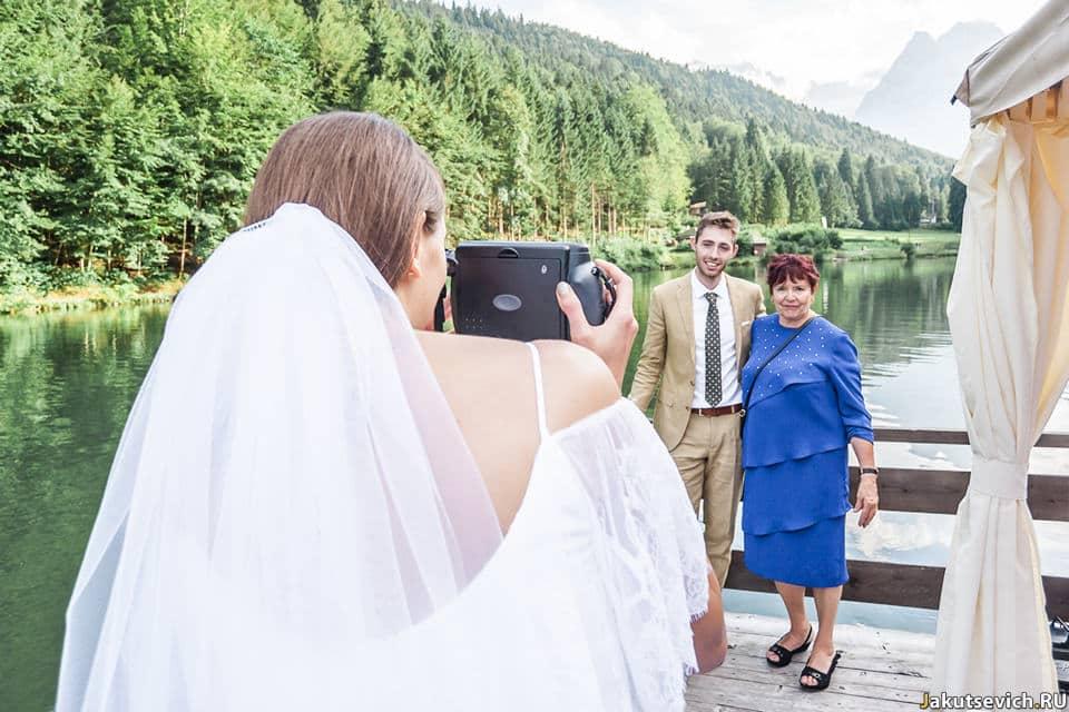 Фотосессия на свадьбу в Германии