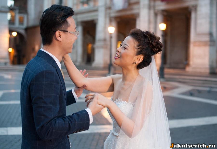 Свадебная фотосессия на Капитолии