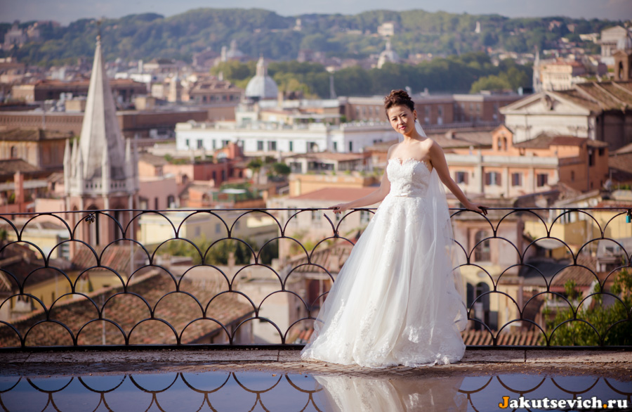 Невеста на вилла Боргезе