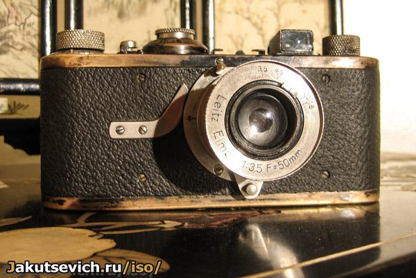 старая камера Лейка