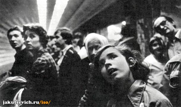 первый день запуска пражского метро
