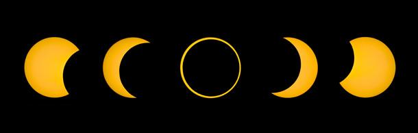 затмение солнце луна