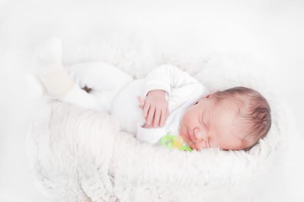 Фотосессия для новорожденной Виталины