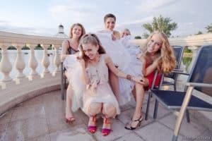 фотосессия для невесты и подружек в Праге