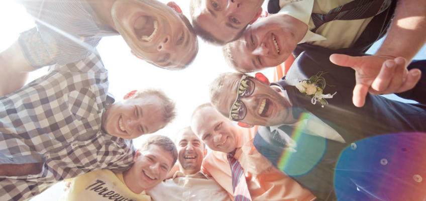 Веселая свадьба — смеяться разрешается
