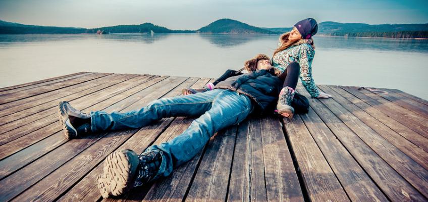 Лав стори фотосессия в Чехии – Махово озеро
