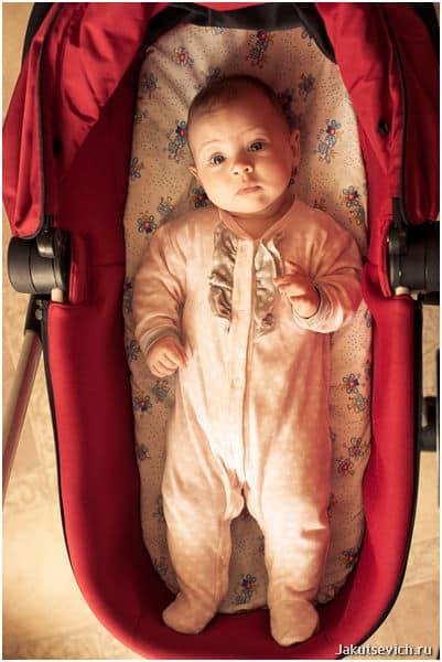 детский фотограф в городе Прага фотосессия для малыша