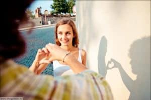 красивые до свадебные фотографии в Европе