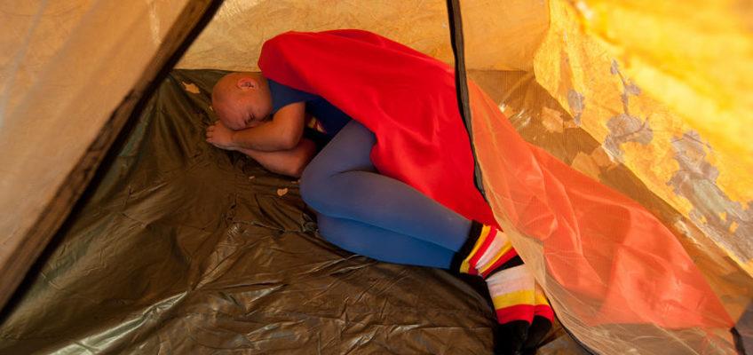 спящий супермен