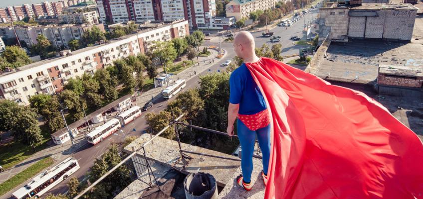 Фотосессия в Бресте — история настоящего супер героя